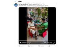 Video Viral Lansia Naik Sepeda 15 Kilometer untuk Vaksinasi Covid-19, Tak Punya HP untuk Daftar