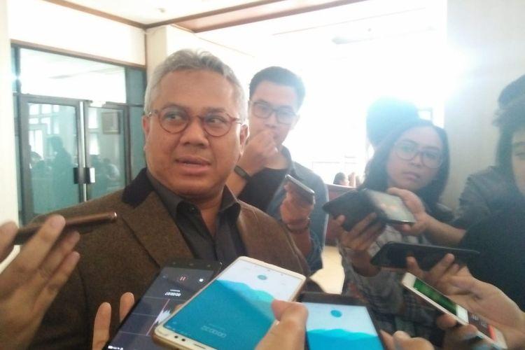 Ketua KPU RI Arief Budiman, Jumat (31/5/2019).