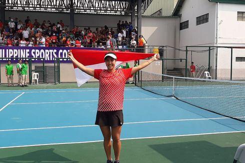 Aldila Sutjiadi Persembahkan Emas Pertama Tenis di SEA Games 2019