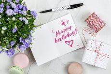7 Inspirasi Kartu Ucapan Ulang Tahun, Bisa Bikin Sendiri