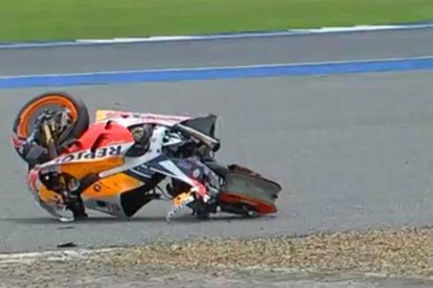 Marquez Kecelakaan, Vinales Pimpin FP1 MotoGP Thailand
