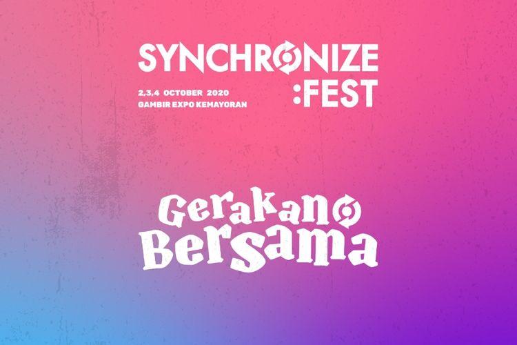 Synchronize Fest Gerakan Bersama.