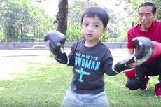 Vlog: Olahraga bersama Cucu, Cara Jokowi Promosikan Asian Games 2018