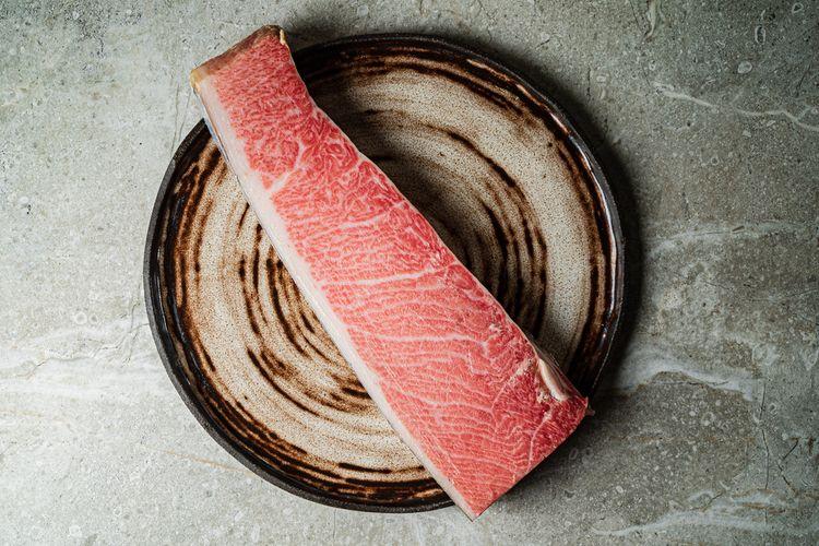 Ilustrasi daging tuna bluefin
