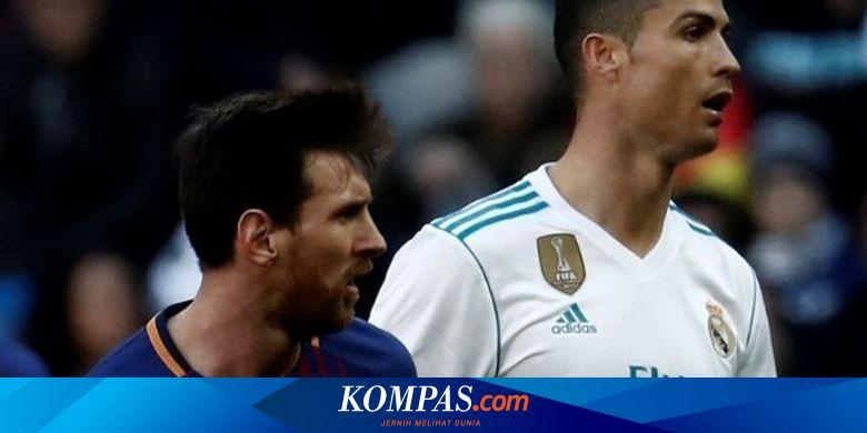 Hasil Undian Liga Champions Kapan Duel Ronaldo Vs Messi Digelar Halaman All Kompas Com