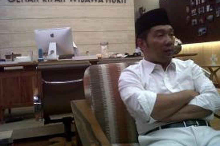 Wali Kota Bandung Ridwan Kamil saat ditemui Kompas.com, di Balai Kota Bandung, Senin (5/10/2015).