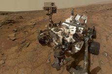 Layaknya Bumi, Mars Pernah Punya Danau Air Asin