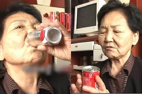 Nenek Ini Habiskan 150.000 Kaleng Minuman Bersoda Selama 40 Tahun