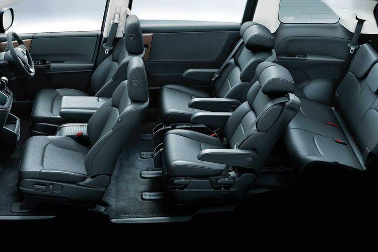 Tampilan interior Honda Odyssey Facelift