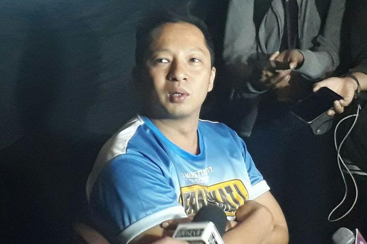Ringgo Agus Rahman saat dijumpai wartawan di CGV Cinemas, Grand Indonesia, Jakarta Pusat, Kamis (13/7/2017).