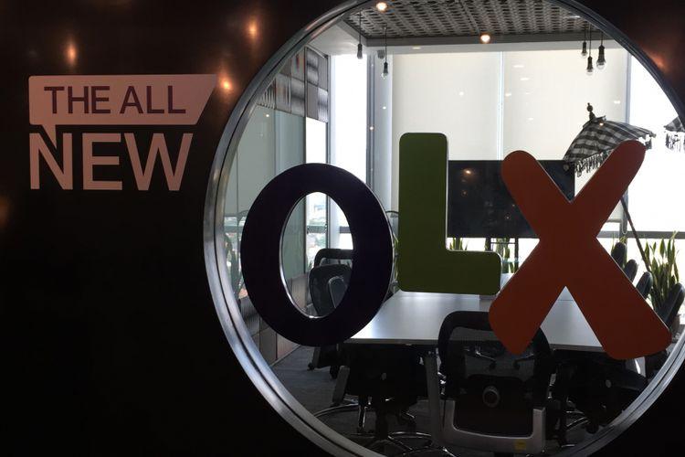 Logo OLX, perusahaan yang bergerak di bisnis iklan baris digital.