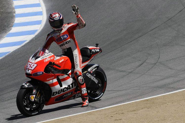 Nicky Hayden menjadi pebalap Ducati MotoGP pada 2009 - 2013.
