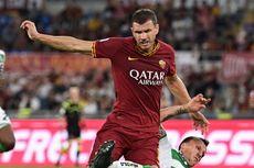Sassuolo Vs Roma, Edin Dzeko Capai 100 Gol Bersama Giallorossi