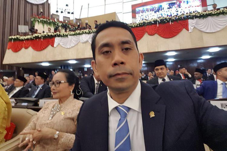 Anggota DPR RI dari fraksi Partai Gerindra, Kamrussamad.
