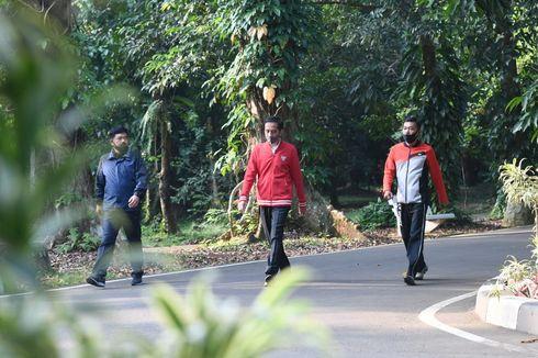 Olahraga Bersama Panglima TNI dan Kapolri, Jokowi Ajak Masyarakat Tingkatkan Imun di Tengah Pandemi