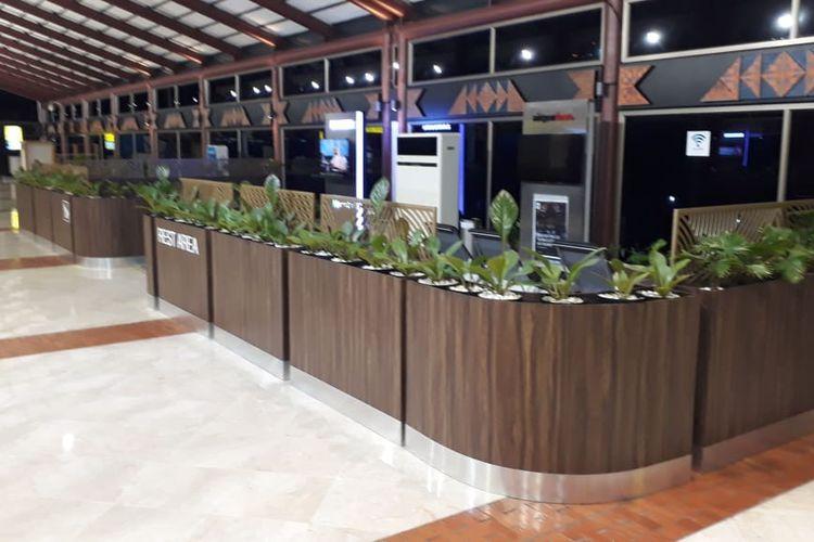 Rest Area Terminal 2 Bandara Soekarno-Hatta.