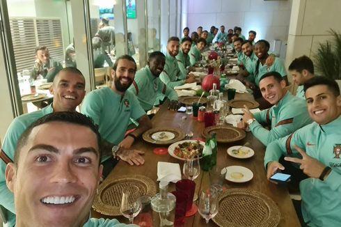 Acara Makan-makan Cristiano Ronaldo cs Ciptakan Kontroversi di Portugal