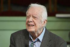 Usai Divaksin Covid-19, Mantan Presiden AS Jimmy Carter Kembali Aktif di Gereja