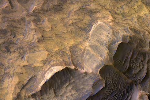 Keindahan MARS, NASA Potret Batu Berpasir di Planet Merah