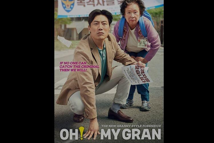 Poster film Oh My Gran.