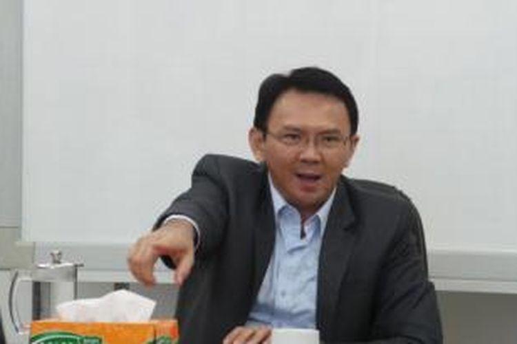 Wakil Gubernur DKI Jakarta Basuki Tjahaja Purnama