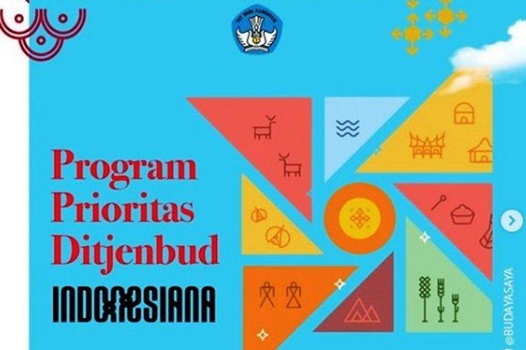 Program prioritas Ditjen Kebudayaan Kemendikbud.