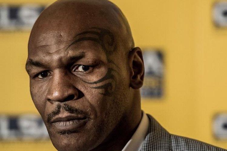 Mantan juara tinju kelas berat Mike Tyson.
