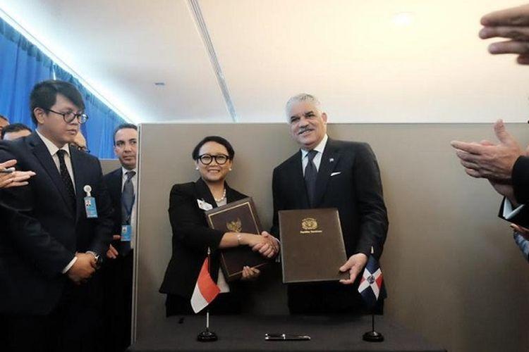 Hari pertama SMU PBB ke-74 telah dimanfaatkan Menlu Retno untuk melakukan delapan pertemuan bilateral.