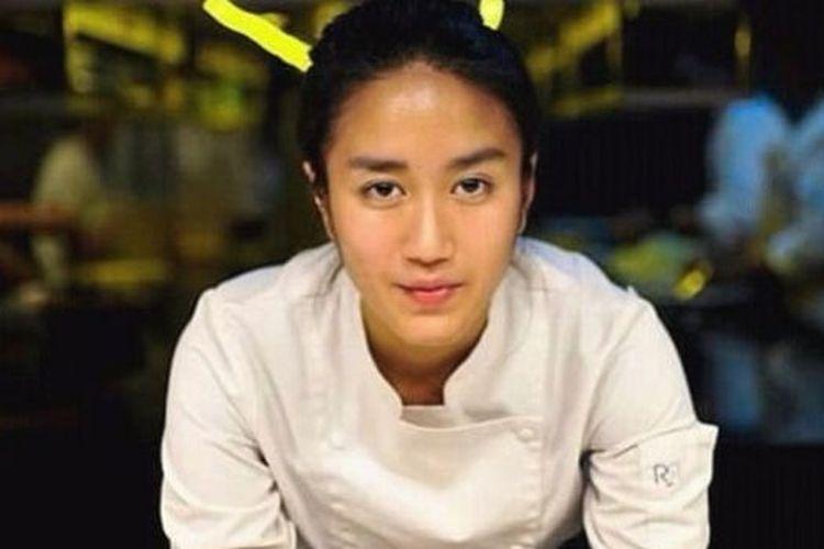 Chef Renatta, salah satu juri di acara MasterChef Indonesia musim kelima.