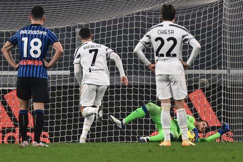 Hasil Juventus Vs Atalanta - Ronaldo Gagal Penalti, Si Nyonya Tua Tertahan