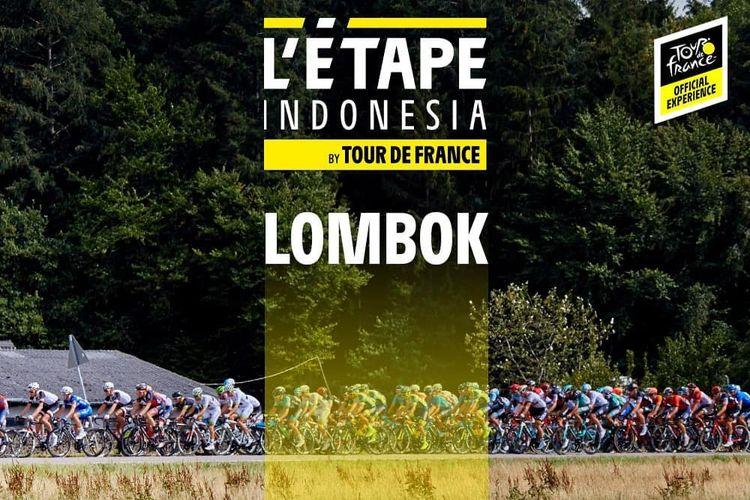 Letape Indonesia by Tour de France bakal digelar di Lombok, Nusa Tenggara Barat, pada Minggu (5/4/2020)