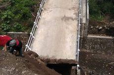 Jembatan Senilai Rp 1,2 Miliar yang Dibangun 2019 Ambrol, Ini Penjelasan DPU-PR Boyolali