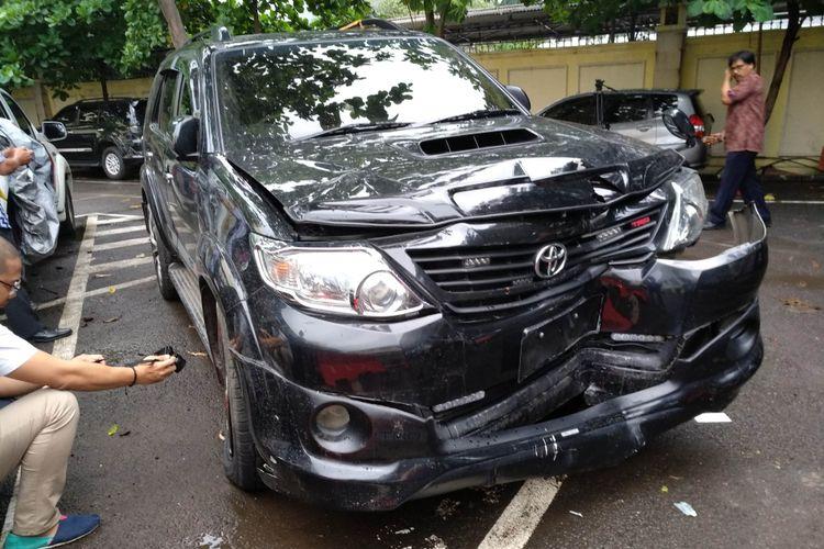 Tim Toyota Mulai investigasi Fortuner yang bawa Setnov