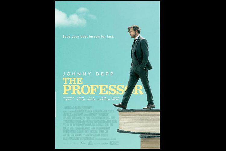 Poster film The Professor (2018) yang dibintangi Johnny Depp, tayang mulai Jumat (23/10/2020) di CATCHPLAY+.
