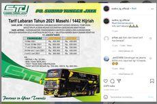 Harga Tiket PO Sudiro Tungga Jaya ke Jakarta, Mulai Rp 400.000