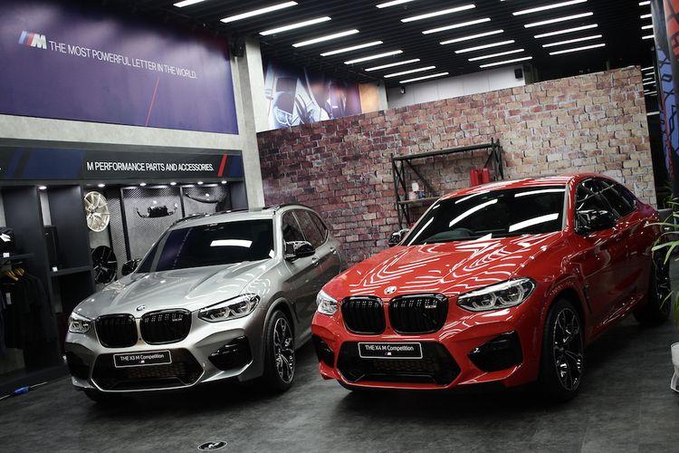 BMW X3 M dan BMW X4 M