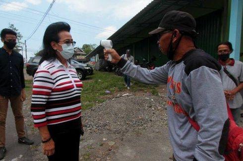 GKR Hemas Sidak Lokasi Penambangan Pasir di Bantaran Sungai Progo