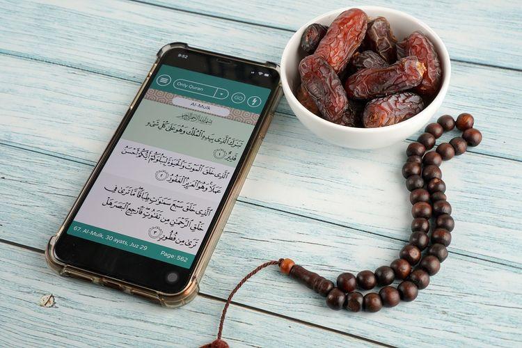 Ilustrasi aplikasi Ramadan
