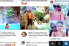 Nikita Mirzani Lengket dengan Seorang Pria di Filipina