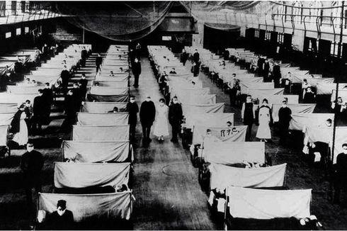 Kematian di AS karena Covid-19 telah Melampaui Pandemi Flu Spanyol 1918