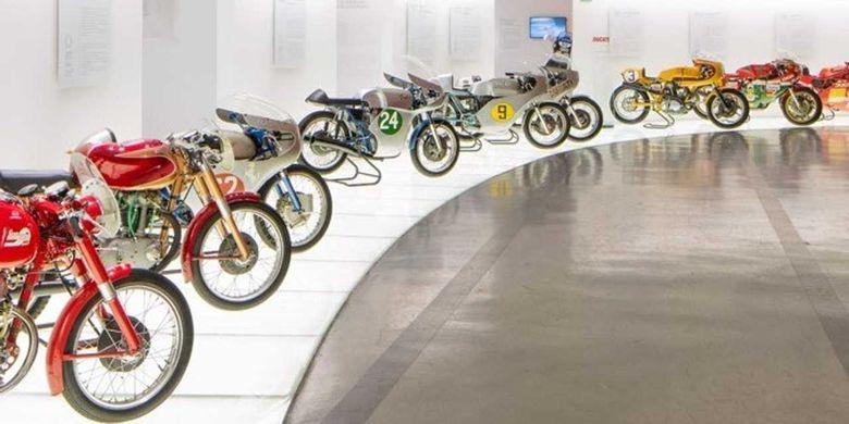 Beberapa museum motor bisa dikunjung secara virtual