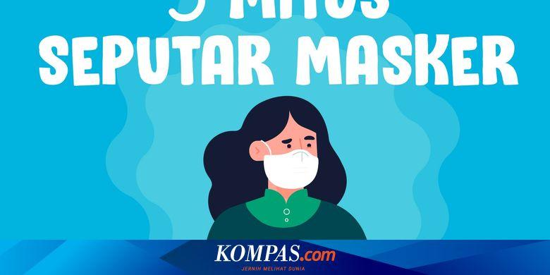 INFOGRAFIK: 5 Mitos Seputar Masker