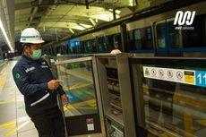 Anjlok 80 Persen, Penumpang Harian MRT Jakarta Hanya 4.450 Orang Per Juli