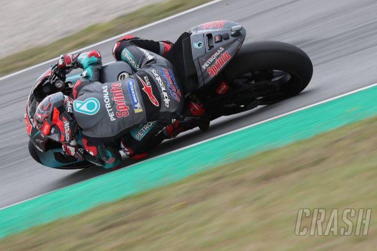 Fabio Quartararo di FP 1 MotoGP Belanda