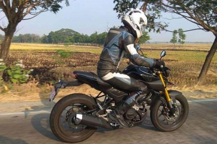Penampakan motor yang diduga pembaruan Yamaha Xabre tersebar di media sosial