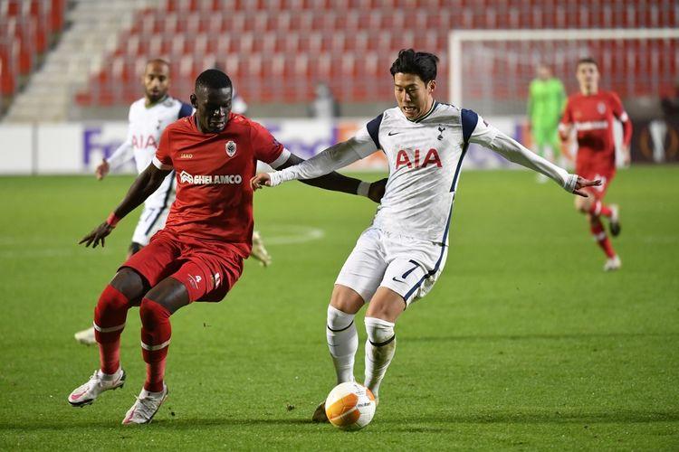 Royal Antwerp Vs Tottenham Spurs Pulang Dengan Tangan Hampa Halaman All Kompas Com