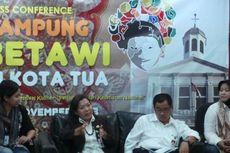 Jokowi Gelar Kampung Betawi di Kota Tua