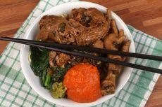 Resep Mie Ayam Ceker ala Kaki Lima, Makanan Lebaran Bareng Keluarga