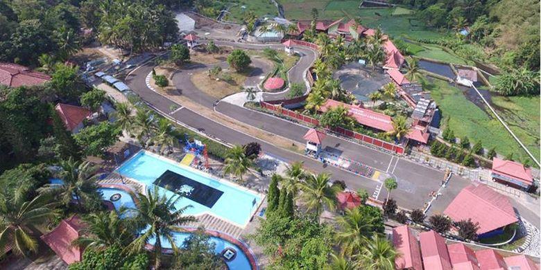 Arena Go Kart Owabong Waterpark, Purbalingga, Jawa Tengah.