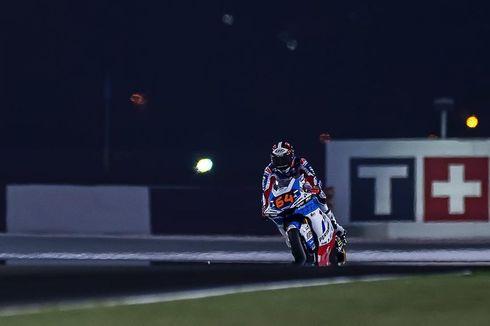 Pertamina Mandalika SAG Team Kesulitan di Hari Pertama Moto2 Doha 2021
